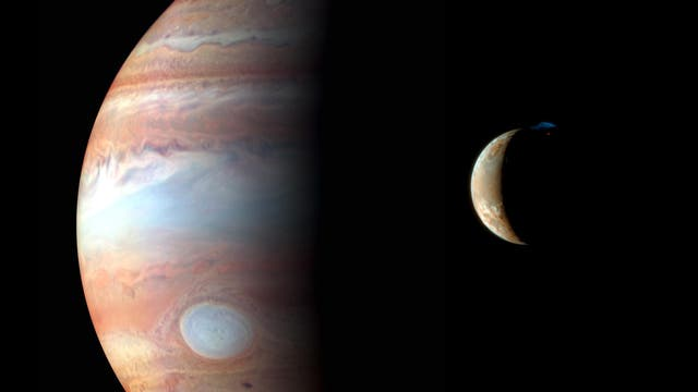 New Horizons Blick auf Jupiter