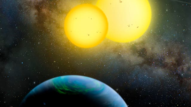 Das Exoplanetensystem Kepler-35