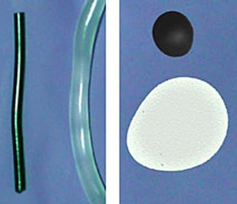 Polymer mit und ohne Zusatz von Nanoröhrchen