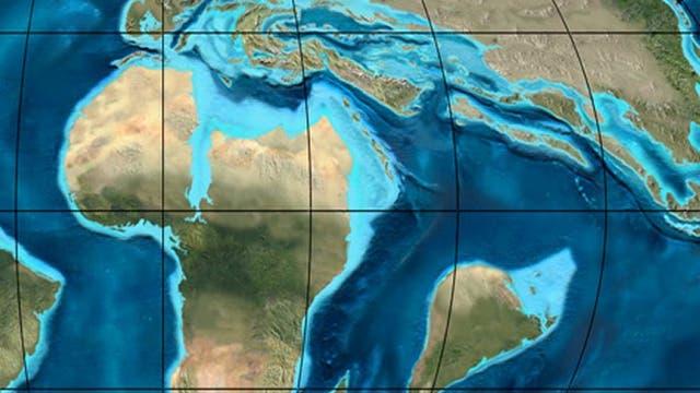 Das Antlitz der Erde vor etwa 65 Millionen Jahren