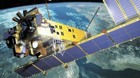 Der Envisat-Satellit