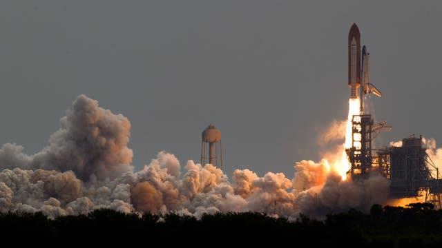 Letzter Start der Atlantis und damit eines Spaceshuttles