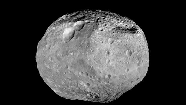 Gesamtansicht von Vesta, aufgenommen von der US-Raumsonde Dawn