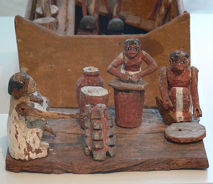 Ägyptische Küchenarbeiterinnen