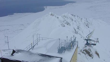 Zeppelin-Station auf Spitzbergen