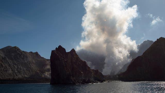 Feuerzone im Pazifik: White Island