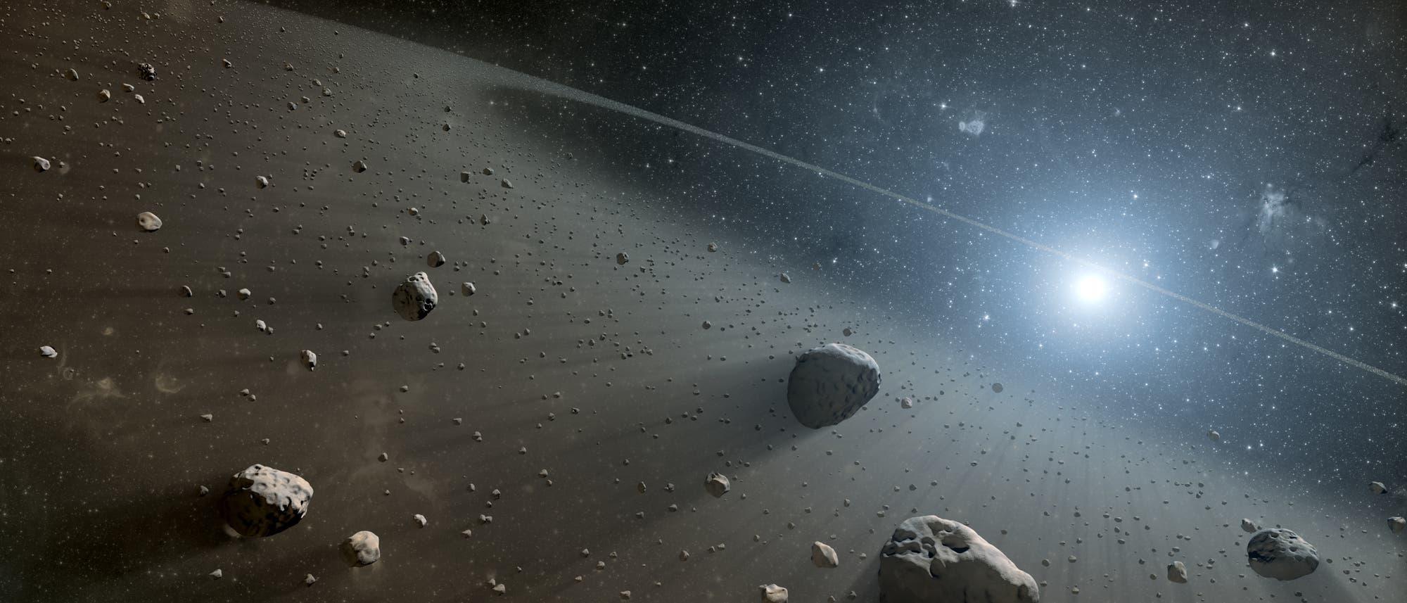 Objekte im Kuipergürtel