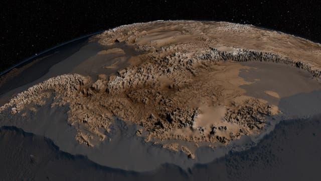 Antarktis - eisfrei