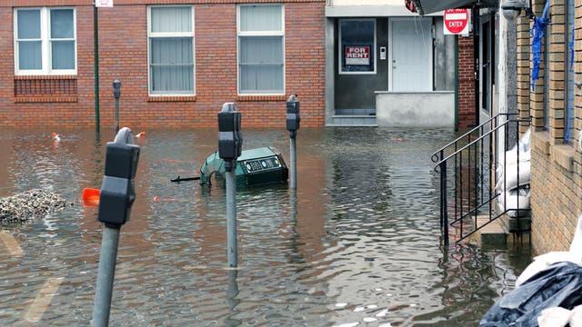 Nach dem Hurrikan Sandy im Oktober 2012