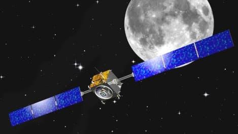 So könnte es aussehen: Smart-1 am Mond