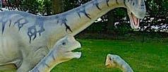 Modell des <i>Europasaurus holgeri</i>