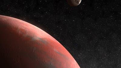 Pluto und sein Mond Charon