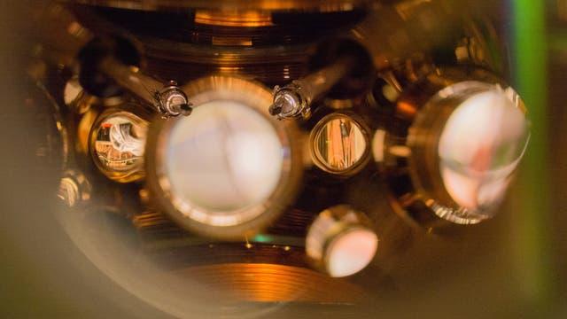 Atomuhr am NIST
