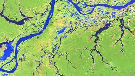 Der Amazonas, Aufnahme vom 30. November 2000.