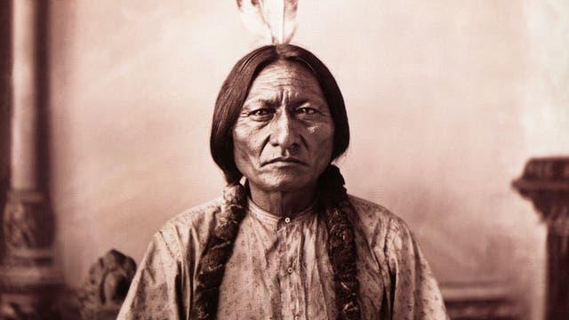 Sitting Bull um das Jahr 1883