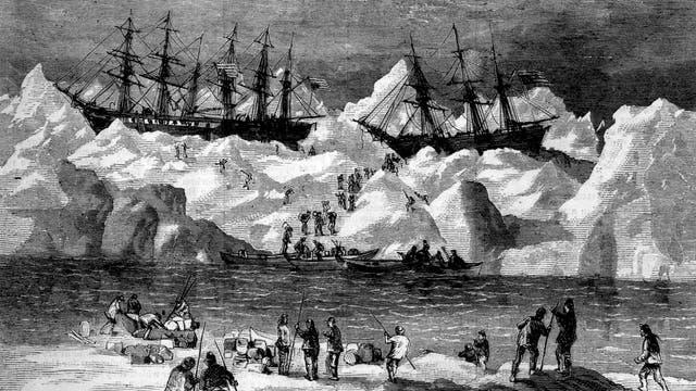 Walfänger geben ihre Schiffe auf