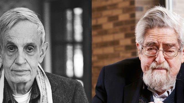John Nash und Louis Nirenberg