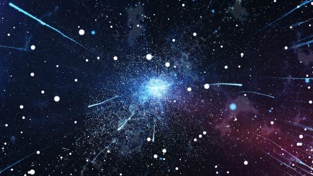Antimaterie im Vakuum (Symbolbild)