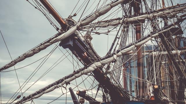 Replik von James Cooks Schiff, der HMB Endeavour