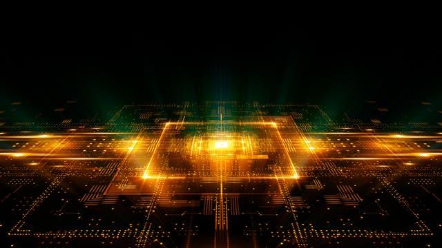 Quantencomputer (Illustration)