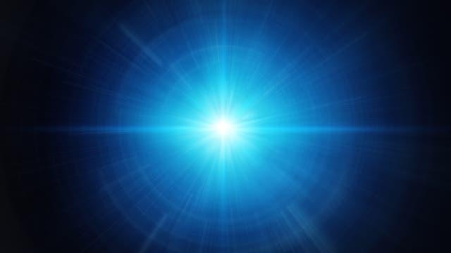 Hell leuchtender Stern