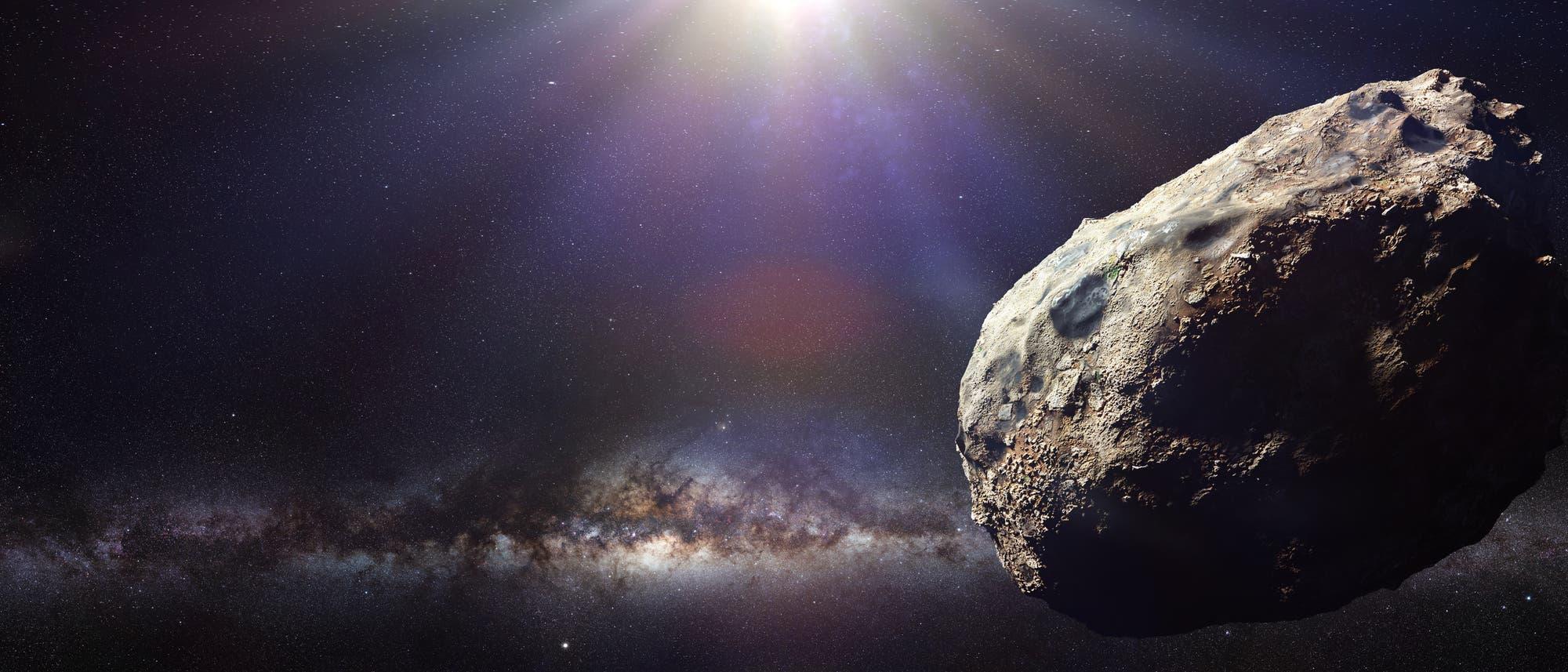 Asteroid (künstlerische Darstellung)