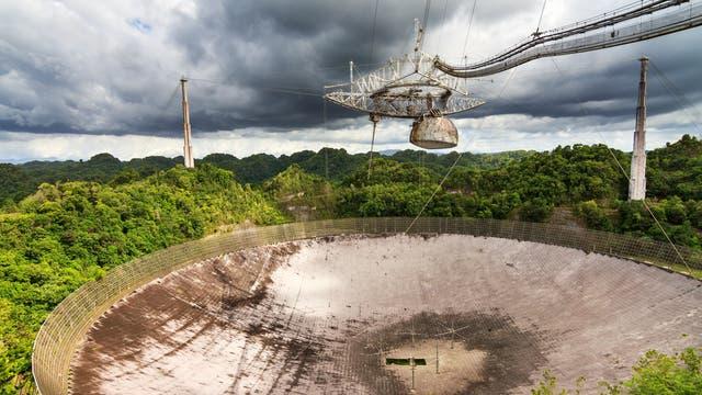 Das Arecibo Observatorium in Puerto Rico