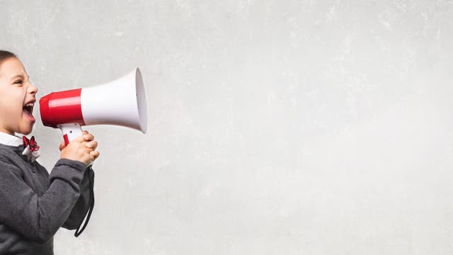 Wer laut schreit, hat nicht zwangsläufig recht