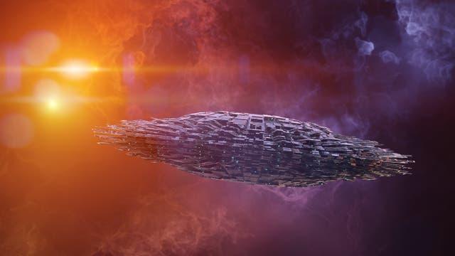 Alien-Gebilde