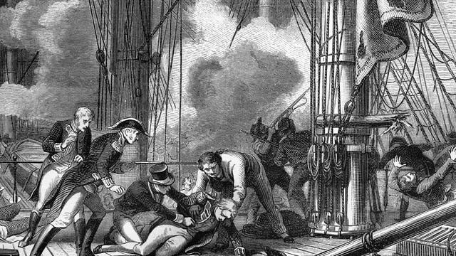 Der Tod von Admiral Horatio Nelson