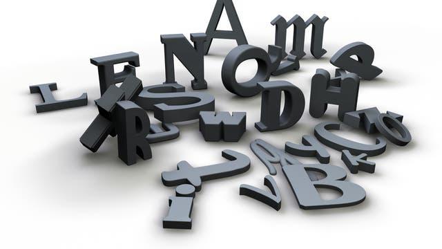 Rätselhafte Buchstaben