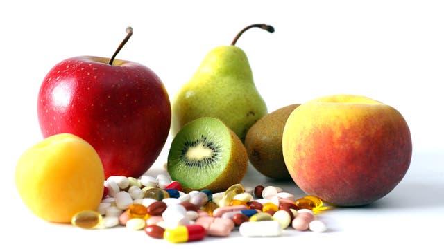 Vitamine in Obst- und Pillenform