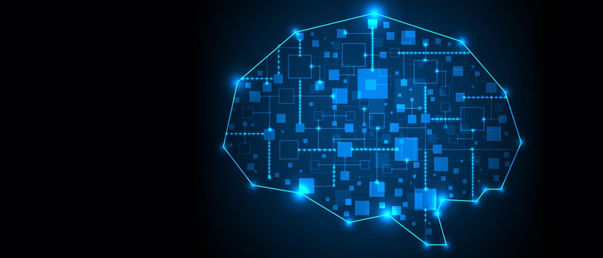 Computerschema Gehirn