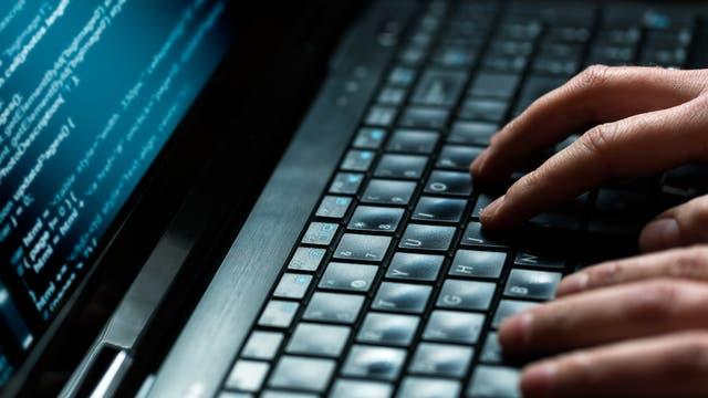 Hacken eines Laptops
