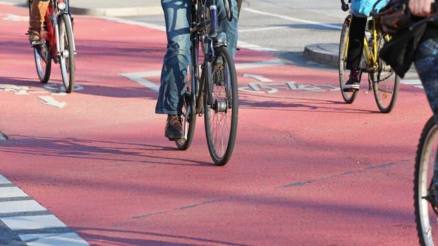 Radfahrer, Radweg