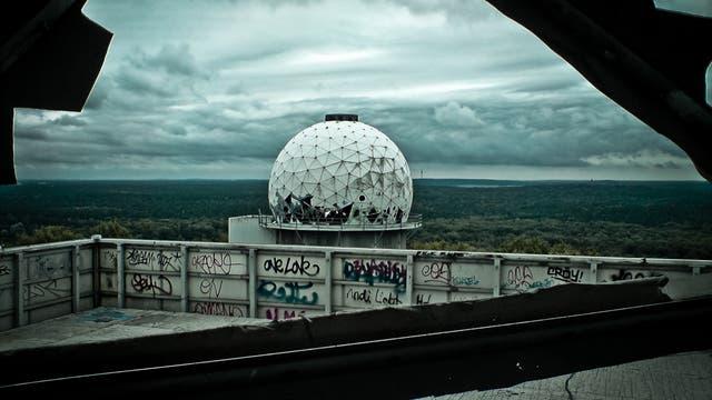 Überwachungsanlage auf dem Teufelsberg