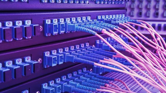Glasfaserkabel für digitale Daten
