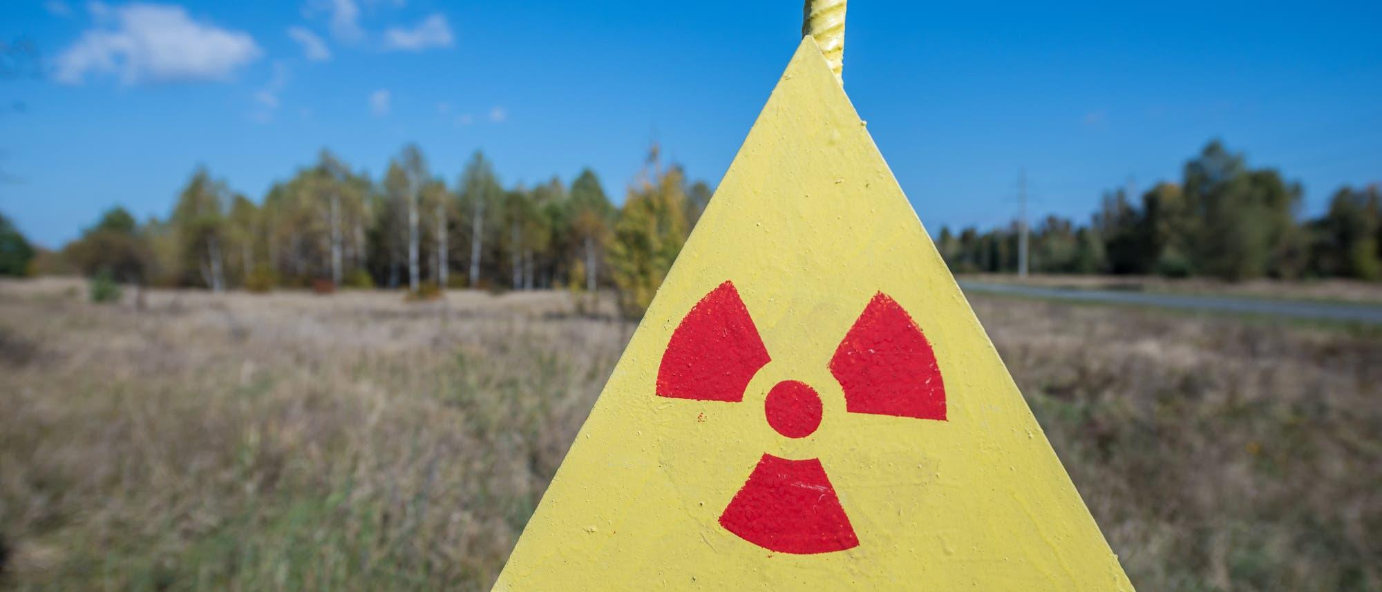Warnung vor erhöhter Radioaktivität im Sperrgebiet von Tschernobyl