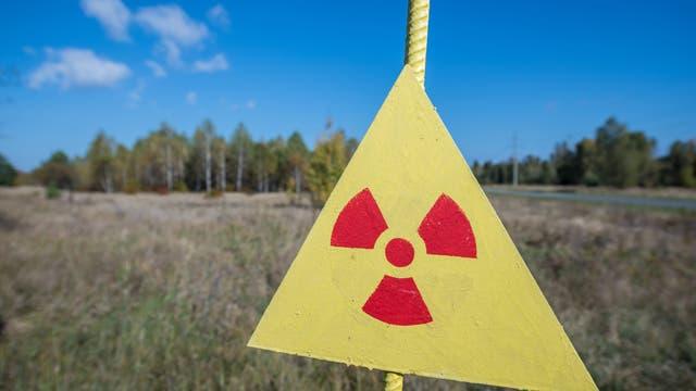 Warnung vor Radioaktivität in Tschernobyl
