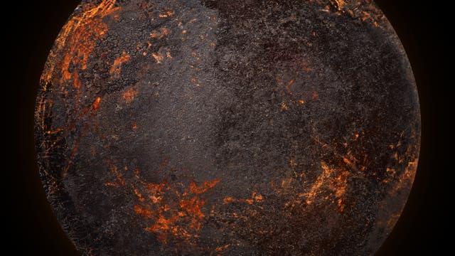Vulkanischer Planet
