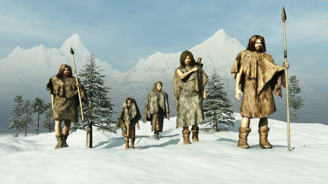 Eiszeitmenschen