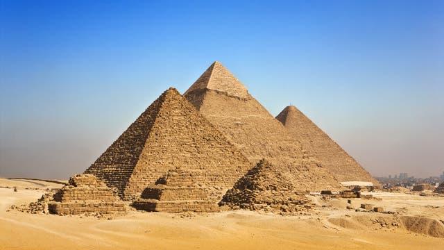 Die Pyramiden von Giseh
