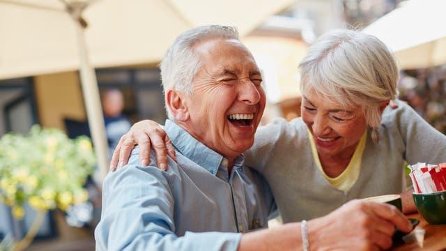 Älteres Paar im Glück