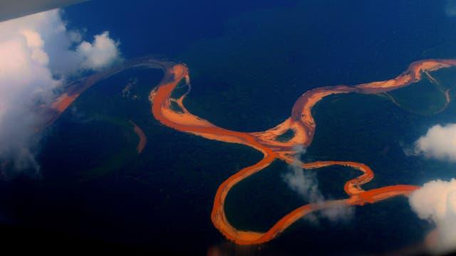 Fluss in Amazonien (Symbolbild)