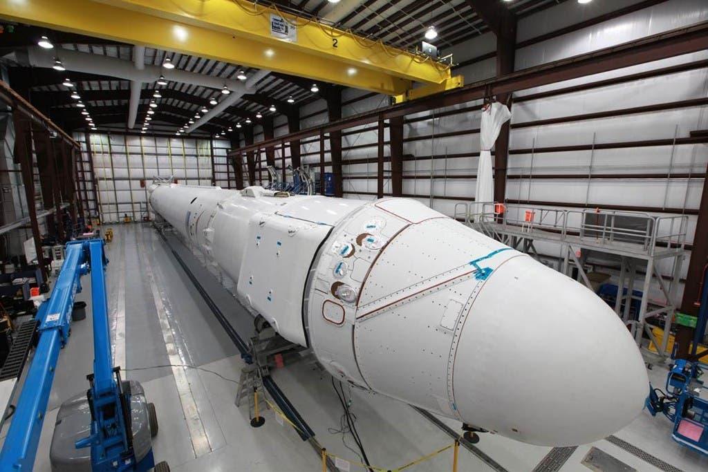 Die Dragon-Raumkapsel für den zweiten Testflug
