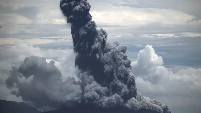 Ausbruch des Krakatau