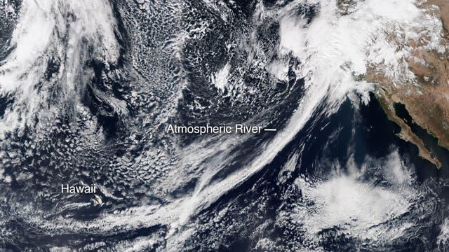 Atmosphärischer Fluss bringt Regen nach Kalifornien (Archivbild)