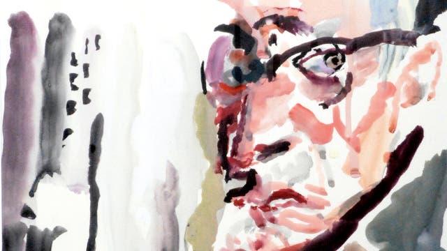 Anton Raederscheidt Selbstportrait