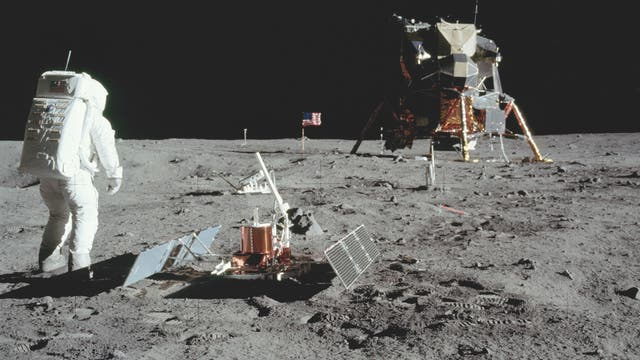 Apollo 11 auf dem Mond