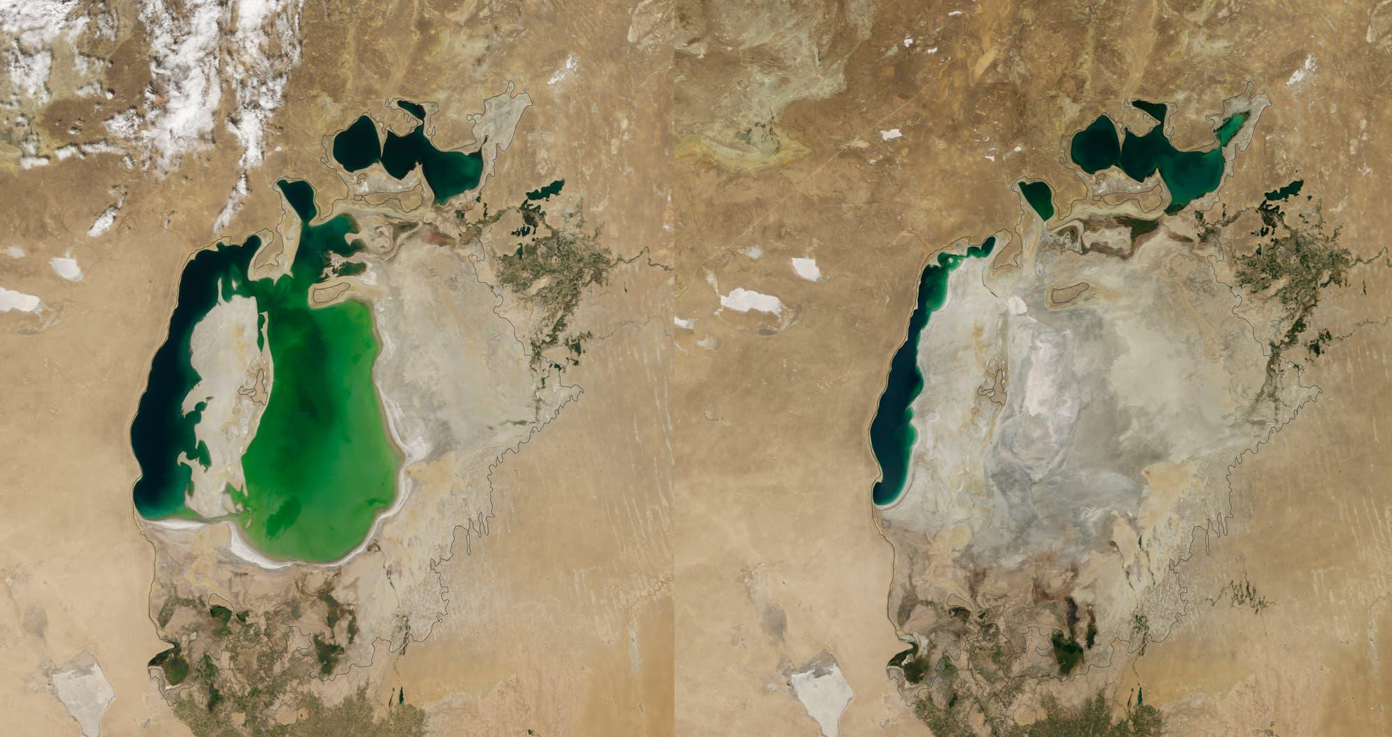 Aralsee – der klägliche Rest